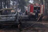 Φωτιά σε Σταμάτα -  Ροδόπολη: Τουλάχιστον 20 σπίτια έγιναν στάχτη