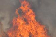 Σε εξέλιξη παραμένει η πυρκαγιά στη Μέλπεια της Μεσσηνίας