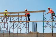 Αύξηση κατά 98,2% στον όγκο της ιδιωτικής οικοδομικής δραστηριότητας τον Μάιο