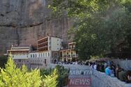 Μέγα Σπήλαιο: Εκατοντάδες πιστοί στην γιορτή της Παναγίας Μεγαλοσπηλαιώτισσας (φωτό)