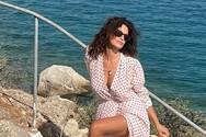 Δωροθέα Μερκούρη: Τι την έκανε έξαλλη στην παραλία; (φωτο)