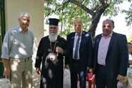 Επίσκεψη του Αντιπεριφερειάρχη Φωκίωνα Ζαΐμη στο Σιγούνι Καλαβρύτων και στους Αρχαίους Λουσούς
