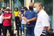 Πάτρα: Παρουσία του βουλευτή Κώστα Μάρκου στη διαμαρτυρία εκπαιδευτικών