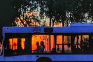 Πάτρα - Το λεωφορείο του Αστικού που… βγήκε μέσα από τον ήλιο!