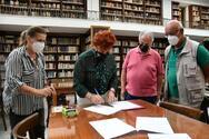 Πάτρα: Ανανέωση σύμβασης για την παραχώρηση στη Στέγη Γραμμάτων - Κωστής Παλαμάς 2 έργων ζωγραφικής