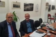 Συνάντηση Γιώργου Ρώρου με τον Δήμαρχο Καλαβρύτων