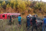 Βαρβάσαινα: Τροχαίο ατύχημα με εγκλωβισμό ατόμου