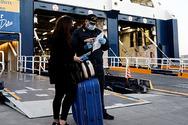 Μειωμένη κατά 46,8% η κίνηση επιβατών στα λιμάνια το α' τρίμηνο