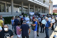 Πάτρα: Ρεύμα φθηνό για όλο το λαό απαίτησαν, με παράσταση διαμαρτυρίας έξω από τη ΔΕΗ, η Δημοτική Αρχή, φορείς, σύλλογοι και δημότες (φωτο)