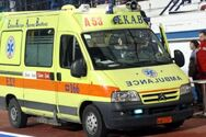 Πάτρα: Τροχαίο στην οδό Λεύκας με έναν τραυματία