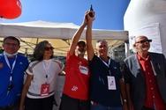 Δυναμική παρουσία από Περιφέρεια και Μπονάνο στο Run Greece της Πάτρας (φωτο)