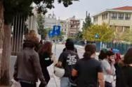 Θεσσαλονίκη: Eπεισόδια και ξύλο με καδρόνια στο ΕΠΑΛ Σταυρούπολης (video)
