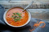Σούπα με κόκκινες φακές και πάπρικα