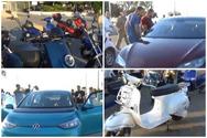 Πάτρα: Ιδιοκτήτες ηλεκτρικών οχημάτων και φίλοι της ηλεκτροκίνησης έδωσαν το παρών σε μια ξεχωριστή συνάντηση (video)