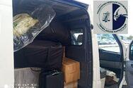 Φορτηγό γεμάτο ναρκωτικά - Κινηματογραφική καταδίωξη μέχρι τη σύλληψη του οδηγού (φωτο)