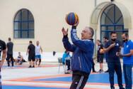Θεοδωρικάκος: Έπαιξε σε τουρνουά μπάσκετ της Αστυνομίας