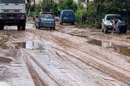 Μεγάλα ύψη βροχής σε Αιτωλοακαρνανία και πληθώρα προβλημάτων από το πέρασμα της κακοκαιρίας «Μπάλλος»