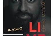 Ο Ησαΐας Ματιάμπα στο Beer Bar Q