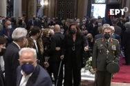 Συγκλόνισε η Ντόρα Μπακογιάννη στην κηδεία της Φώφης Γεννηματά