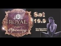 Opening | Royal Club | 19/09/15