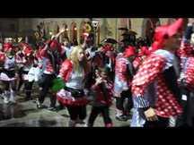 Πατρινό Καρναβάλι 2014 - Νυχτερινή Ποδαράτη 01-03-14 Part 1/2