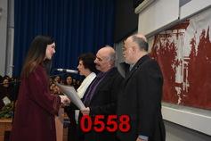 Ορκωμοσία Σχολής Φιλολογίας 14/12/2018 18:00 μ.μ. Part 07/20