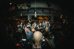 Nikos Diamantopoulos & Jovolos & Andy Es at Pas Mal 19-05-19