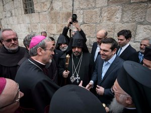 Η ευχή του Βαρθολομαίου στον Τσίπρα για την ονομαστική του εορτή