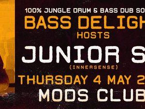 Bass Delight & Junior SP. at Mods Club