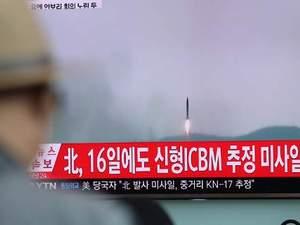 Η Βόρεια Κορέα εκτόξευσε νέο πύραυλο!