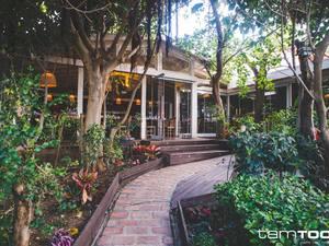 To πιο πράσινο beach bar restaurant της Πάτρας!