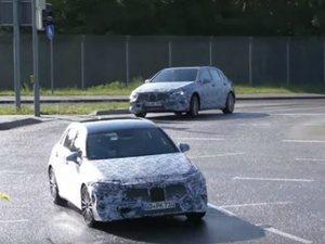 H Mercedes δοκιμάζει την επόμενη A-Class (video)