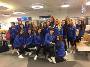 Στην Πράγα της Τσεχίας η ελληνική αποστολή του cheerleading για το ευρωπαϊκό πρωτάθλημα (pics)