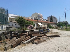 Πάτρα: Απαράδεκτη η κατάσταση στον σιδηροδρομικό σταθμό του Αγίου Ανδρέα (pics)