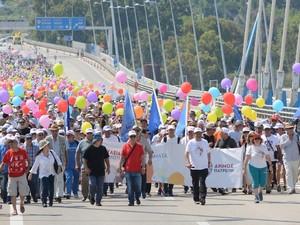 Μεγάλη συμμετοχή στην πορεία του Δήμου Πατρέων κατά της ανεργίας! (pics)