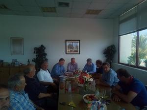 Στην Παναιγιάλεια Ένωση Αγροτικών Συνεταιρισμών ο Γιώργος Μαυραγάνης