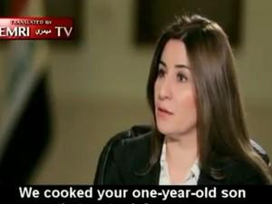 Σοκ - Τζιχαντιστές έδωσαν σε γυναίκα να φάει τον ενός έτους γιο της (video)
