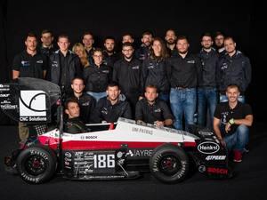 Στην 28η θέση η ομάδα του UoP Racing στην πίστα Hockeheim στην Γερμανία (pics)