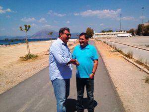 Στην Πάτρα για τους Μεσογειακούς Αγώνες ο Ισίδωρος Κούβελος (pics)