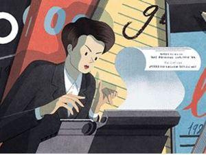 Clare Hollingworth - H «επιτυχία του αιώνα» με το δανεικό αυτοκίνητο στο doodle της Google!