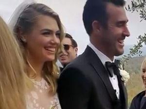 Παντρεύτηκε τον εκλεκτό της καρδιάς της, η Kate Upton! (video)
