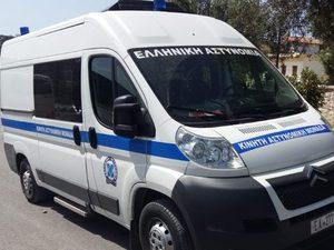Το εβδομαδιαίο δρομολόγιο κινητής αστυνομικής μονάδας Αχαΐας