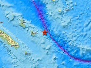 Σεισμός 6,4 Ρίχτερ στη Νέα Καληδονία