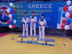 Εξαιρετικές εμφανίσεις της Έκρηξης Πατρών στο G1 Greece Open! (φωτο)