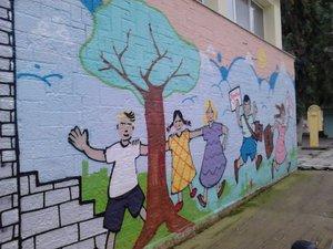 Τα εντυπωσιακά γκράφιτι στο 7ο Δημοτικό της Πάτρας (pics)