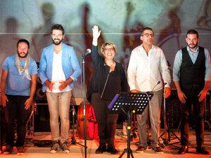 Chronos - Η Δήμητρα Γαλάνη συναντά ένα κουαρτέτο εξαιρετικών Ελλήνων μουσικών στην Πάτρα!