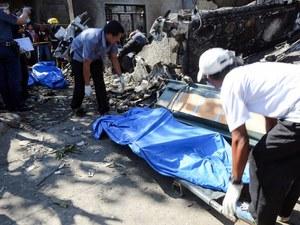 Φιλιππίνες: 10 νεκροί από συντριβή μικρού αεροπλάνου σε σπίτι