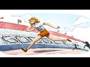Φάνι Μπλάνκερς-Κοέν: Αφιερωμένο στην 'ιπτάμενη νοικοκυρά' το Google Doodle
