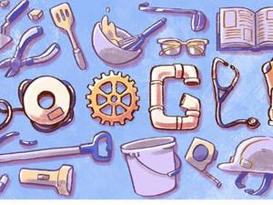 Αφιερωμένο στην εργατική Πρωτομαγιά το doodle της google