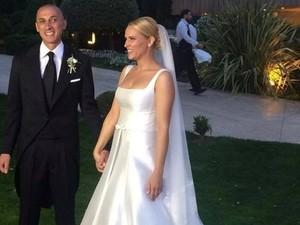 Παντρεύτηκαν Έλενα Ασημακοπούλου και Μπρούνο Τσιρίλο (φωτο)